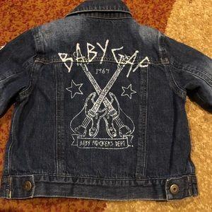 Lined Denim jacket